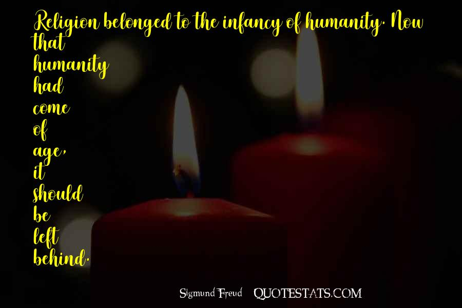 Quotes About Freud Religion #1423496