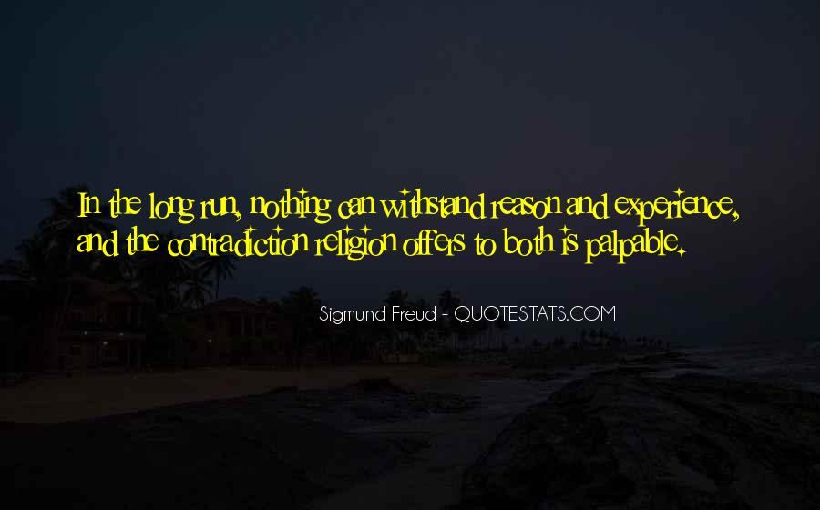 Quotes About Freud Religion #1440594
