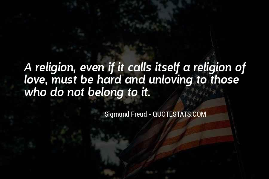 Quotes About Freud Religion #1818055