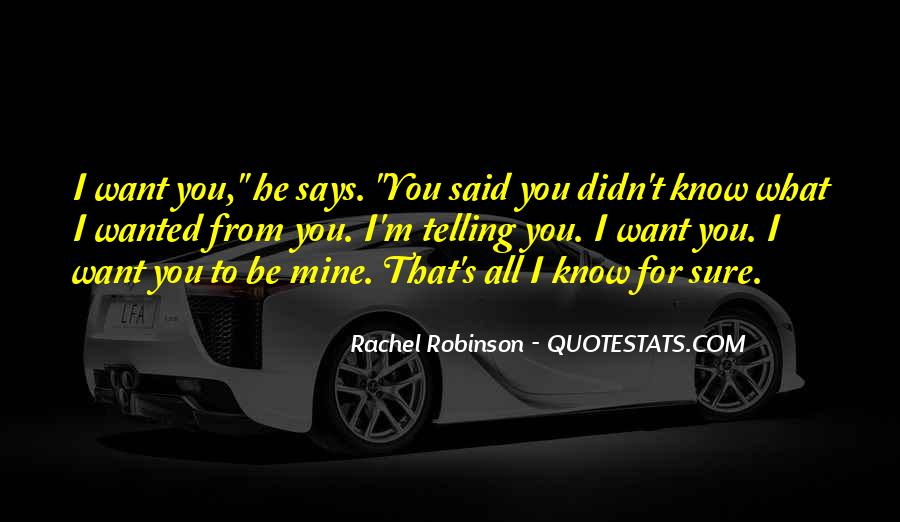 Here's To You Rachel Robinson Quotes #825209