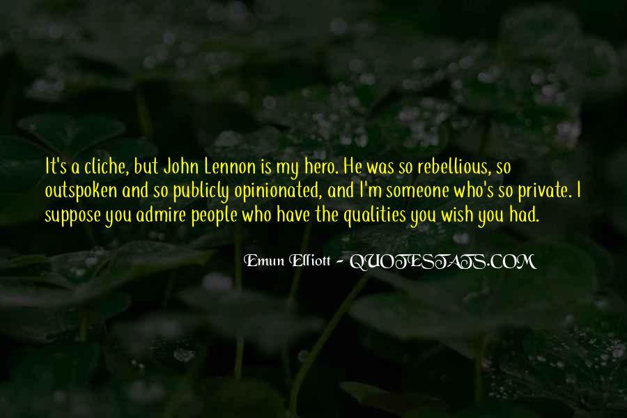 Hero Qualities Quotes #1762131