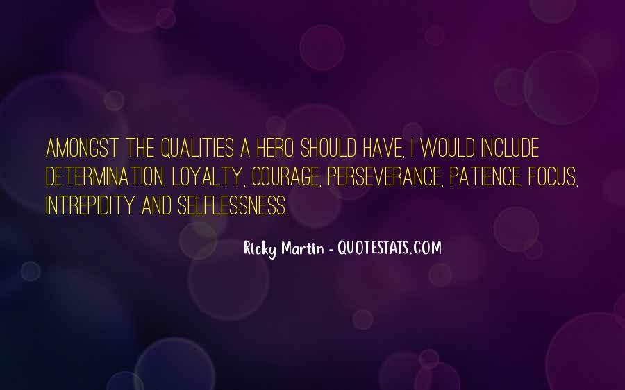 Hero Qualities Quotes #1848647