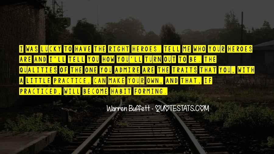 Hero Qualities Quotes #574023