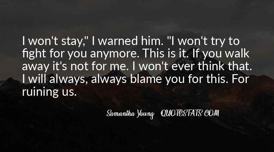 Hero Samantha Young Quotes #478111