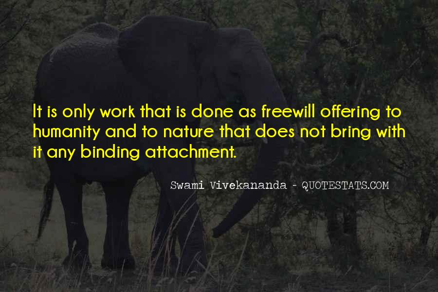 Quotes About Freewill #1005089