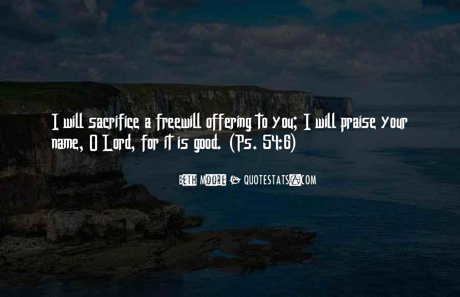Quotes About Freewill #860482