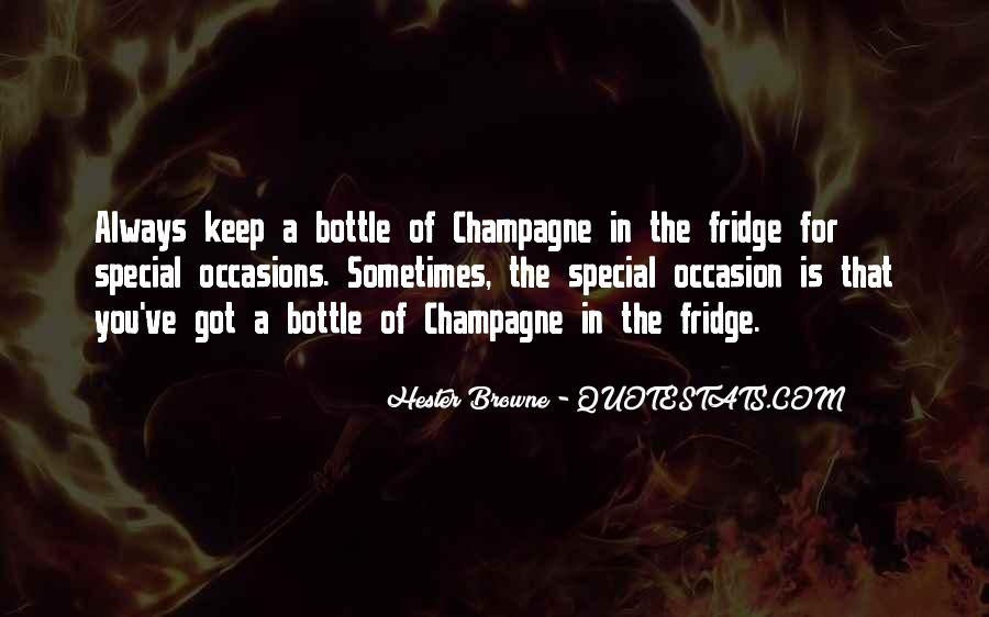Hester Browne Champagne Quotes #1420267