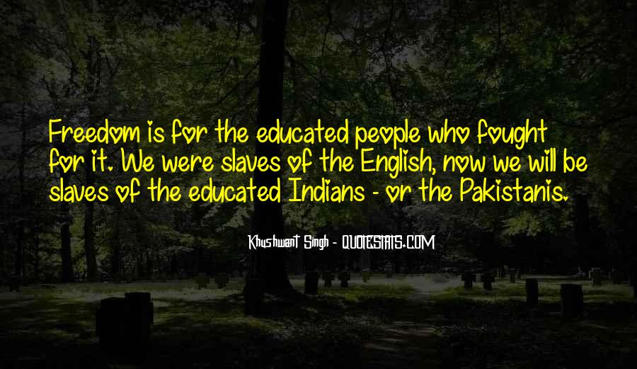 Quotes About Freedom Of India #1055940