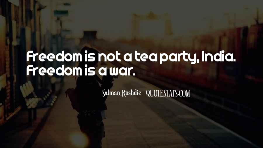 Quotes About Freedom Of India #1127561