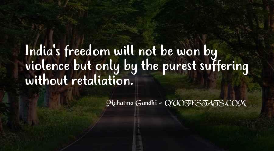 Quotes About Freedom Of India #1187339