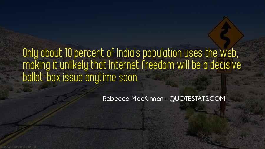 Quotes About Freedom Of India #1585964