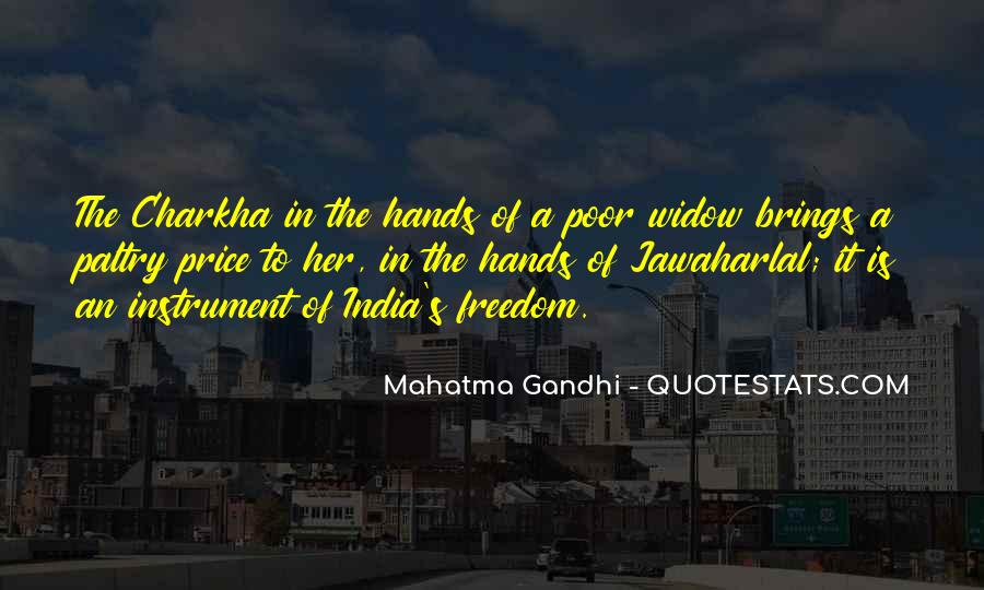 Quotes About Freedom Of India #214298