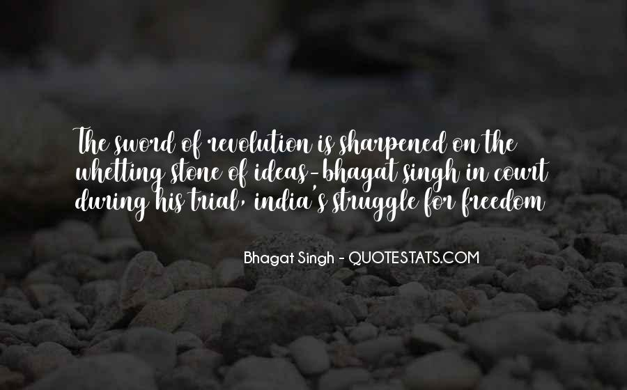 Quotes About Freedom Of India #279409