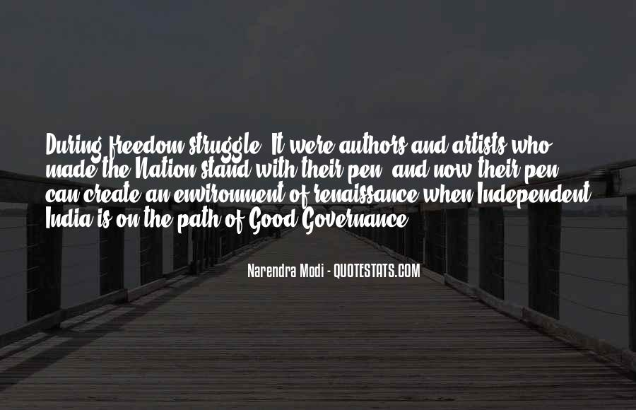 Quotes About Freedom Of India #555399