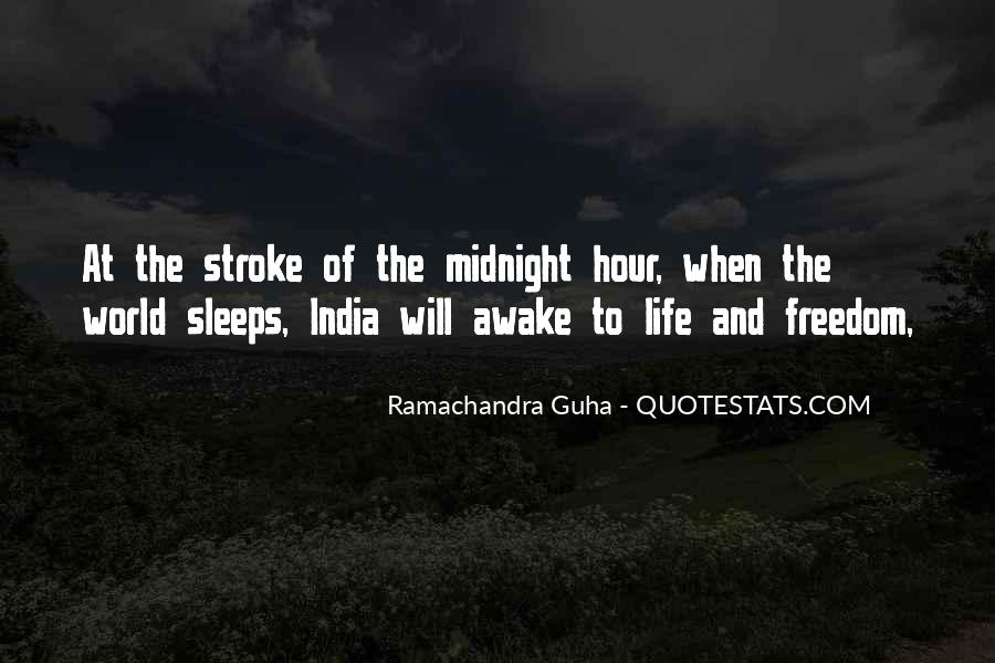 Quotes About Freedom Of India #721247
