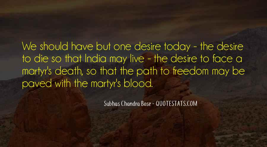 Quotes About Freedom Of India #811740