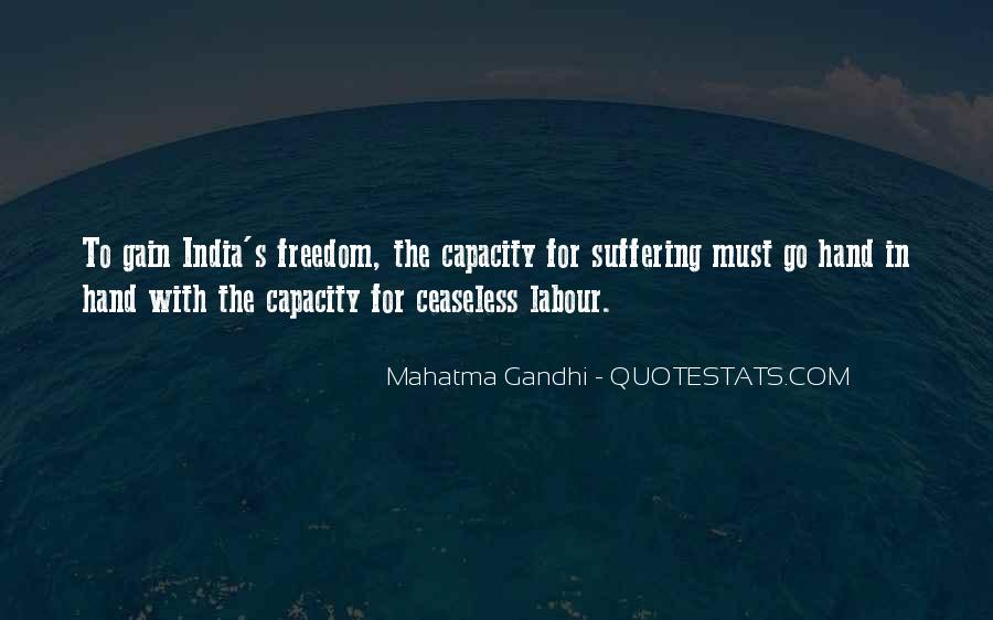 Quotes About Freedom Of India #847117