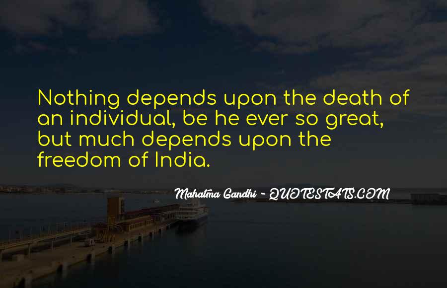 Quotes About Freedom Of India #887766