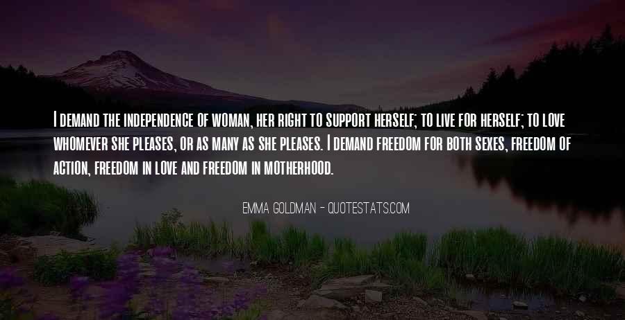 Quotes About Freedom Love #223627