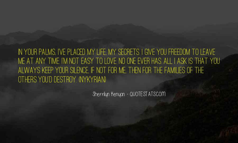 Quotes About Freedom Love #237872