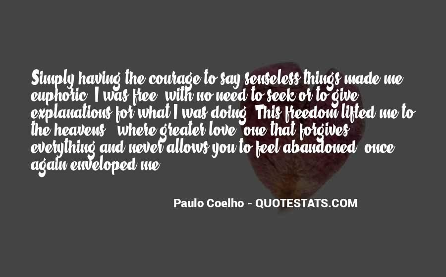 Quotes About Freedom Love #30909
