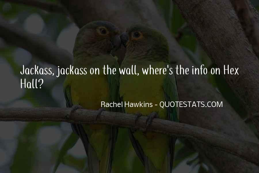 Hex Hall Rachel Hawkins Quotes #1078565