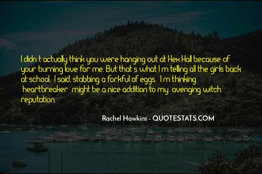 Hex Hall Rachel Hawkins Quotes #1323978