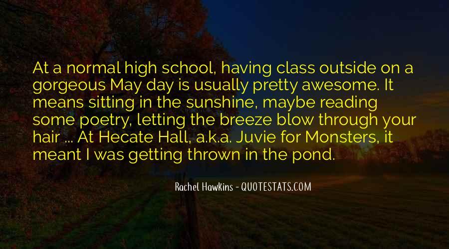 Hex Hall Rachel Hawkins Quotes #1616654