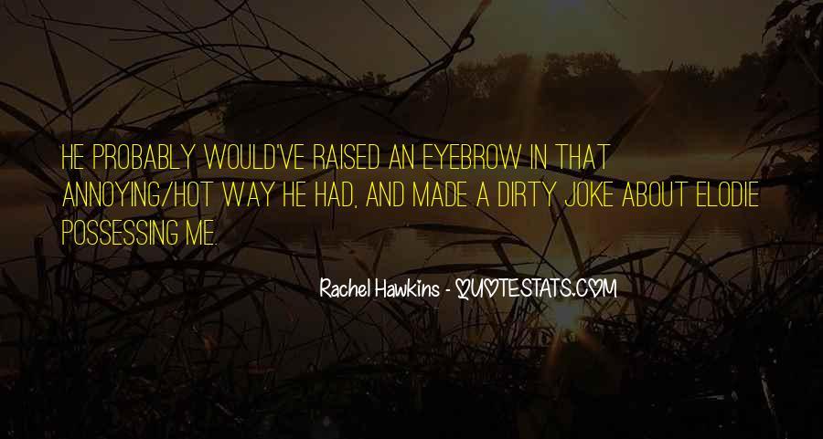 Hex Hall Rachel Hawkins Quotes #1669466