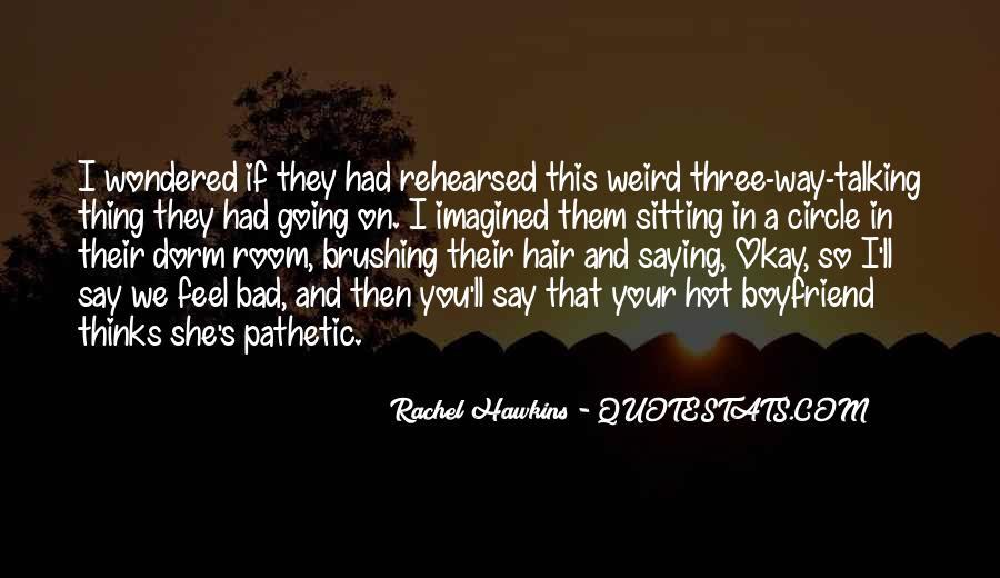 Hex Hall Rachel Hawkins Quotes #188001