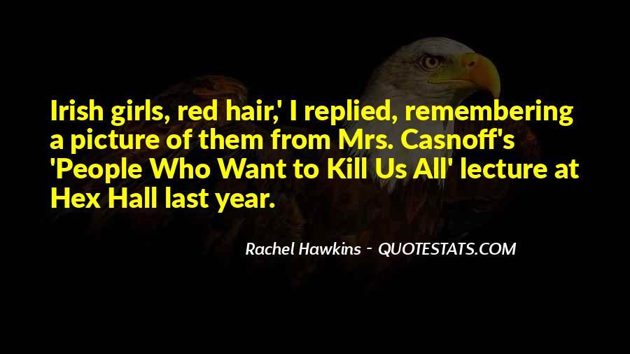 Hex Hall Rachel Hawkins Quotes #471424