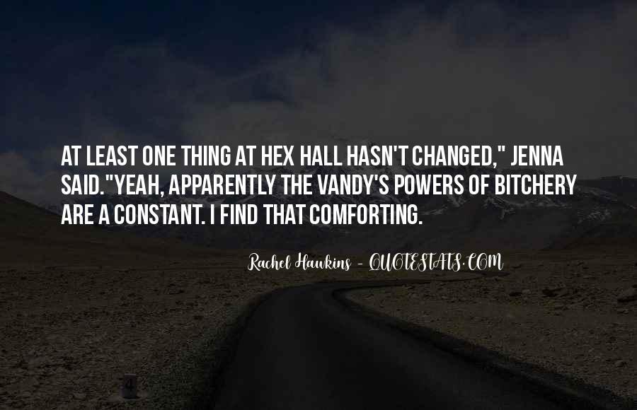 Hex Hall Rachel Hawkins Quotes #727233