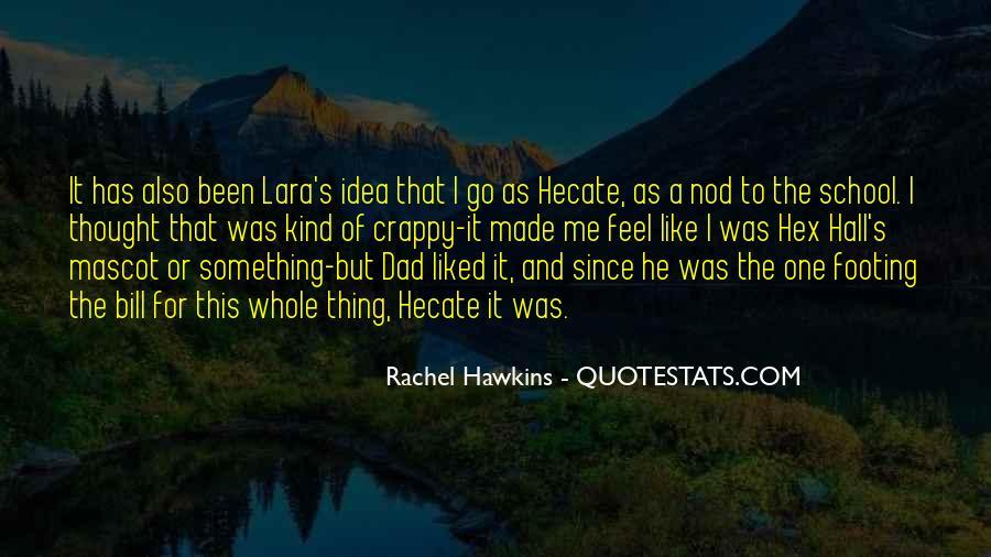 Hex Hall Rachel Hawkins Quotes #923672