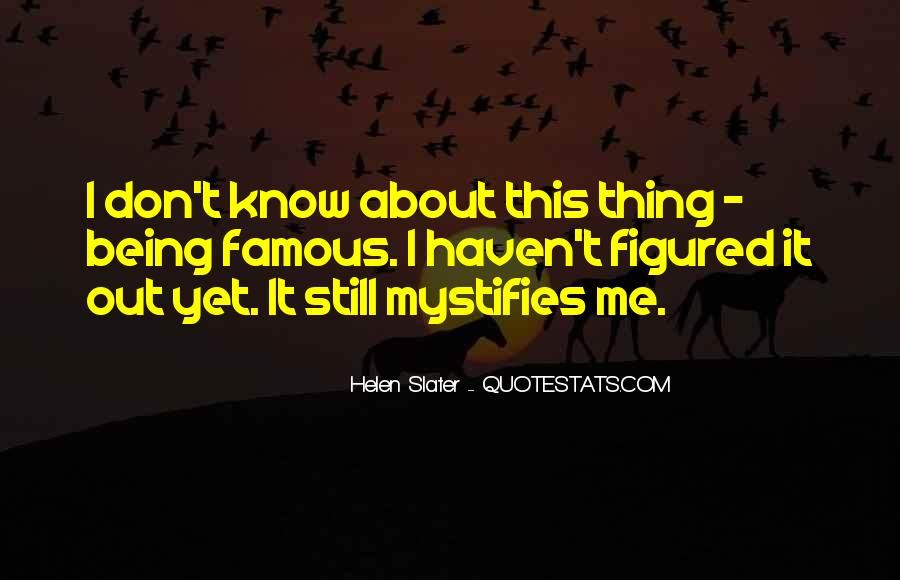 Hhh Famous Quotes #42277