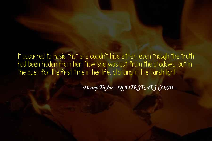 Hidden In The Shadows Quotes #283491
