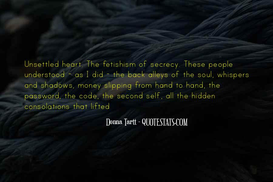 Hidden In The Shadows Quotes #721401