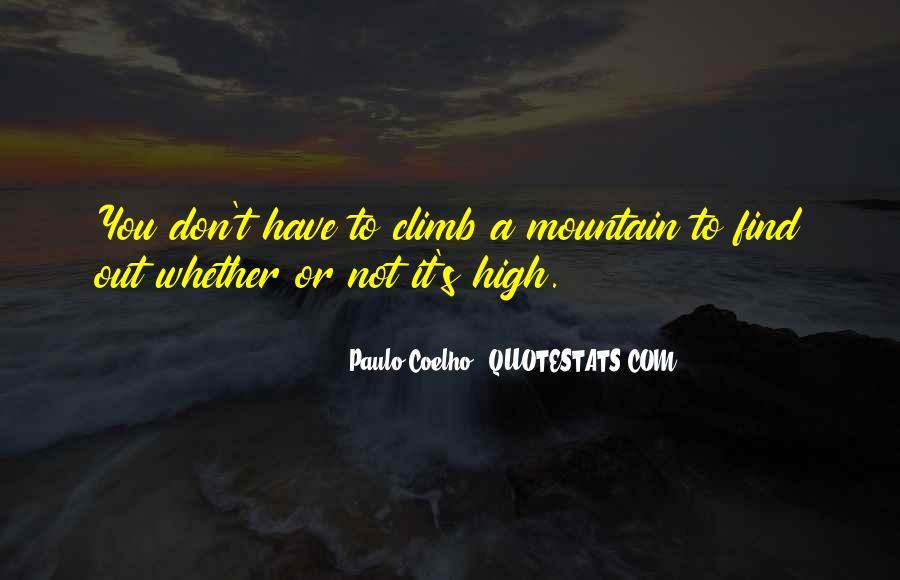 High Mountain Quotes #1043927