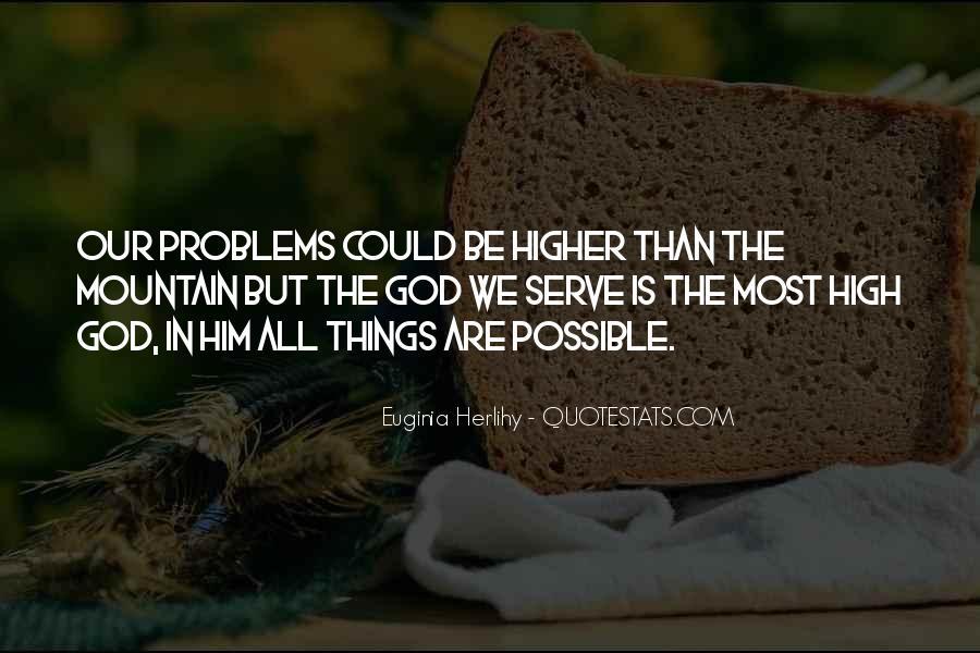 High Mountain Quotes #128514