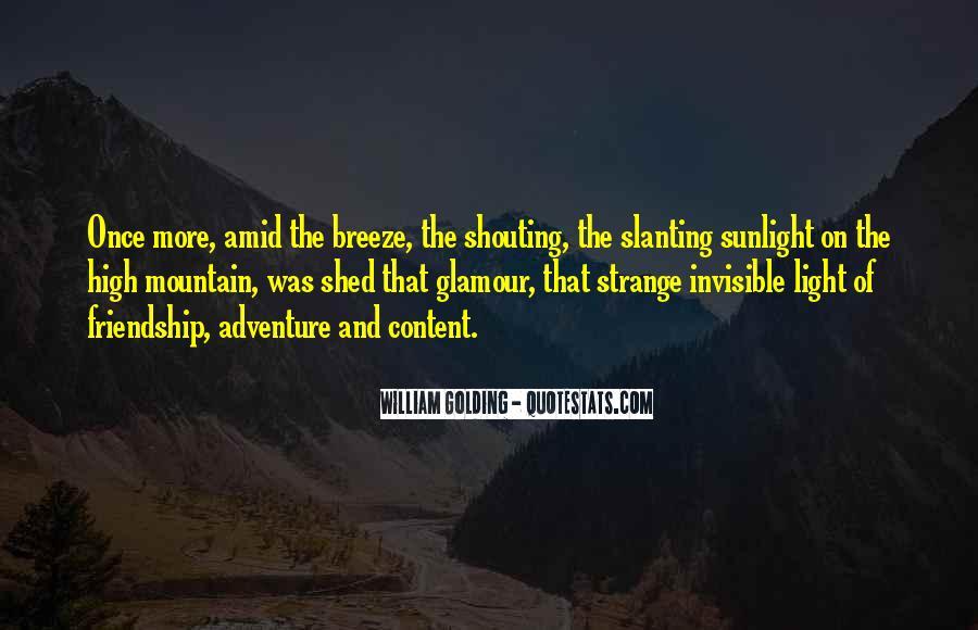 High Mountain Quotes #1454569
