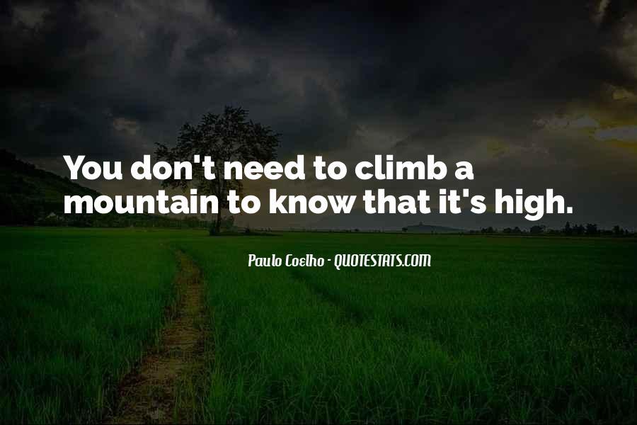 High Mountain Quotes #1582756
