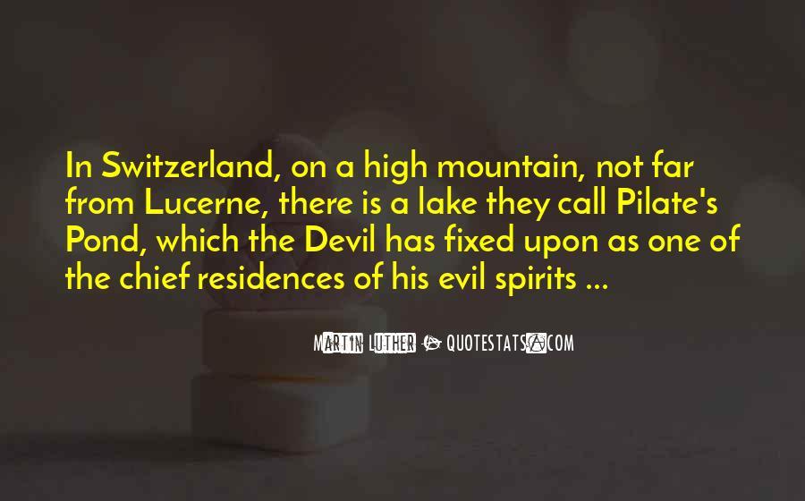 High Mountain Quotes #80545