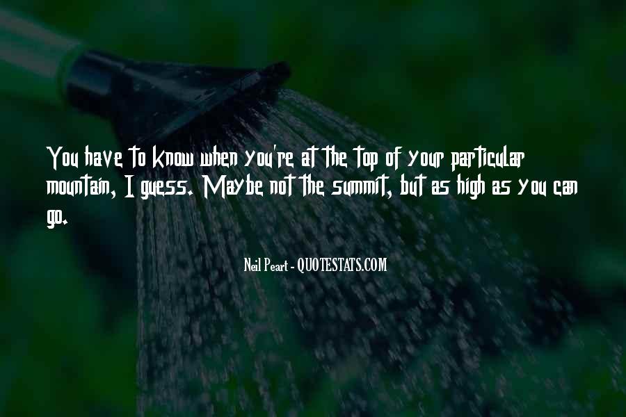 High Mountain Quotes #906752