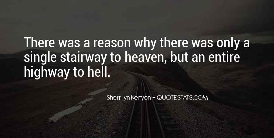 Highway To Hell Quotes #1361379