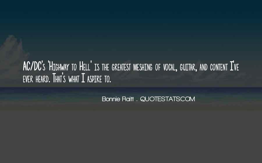 Highway To Hell Quotes #1456249