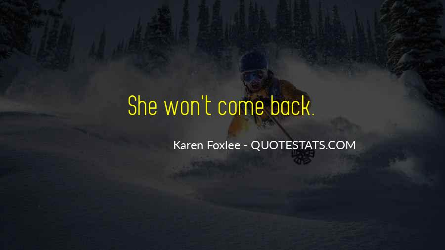 Quotes About Foxlee #1517442