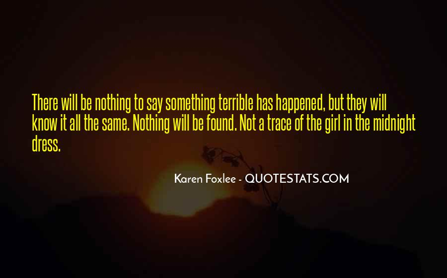 Quotes About Foxlee #356466