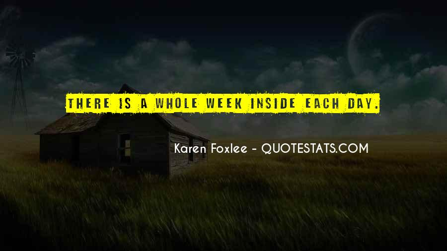 Quotes About Foxlee #679472