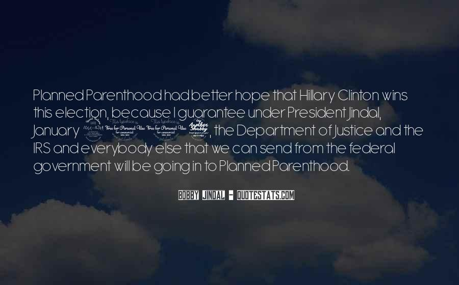 Hillary Clinton Planned Parenthood Quotes #1477819