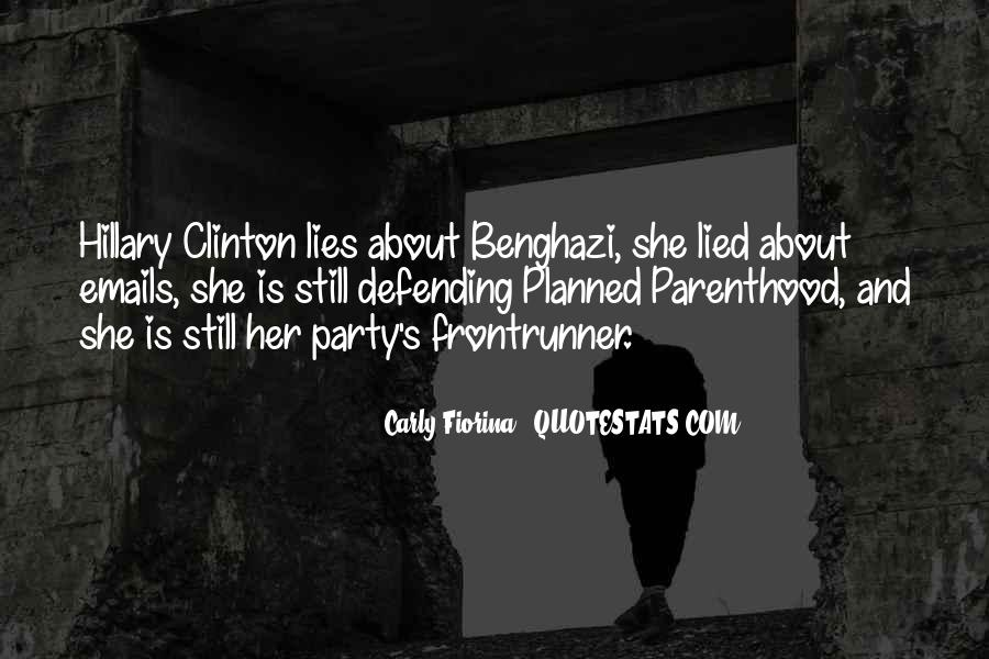 Hillary Clinton Planned Parenthood Quotes #340069
