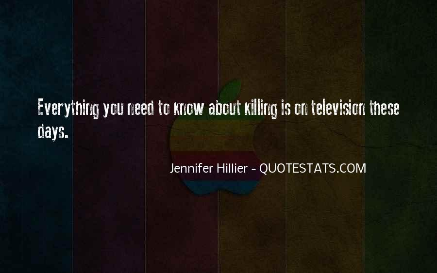 Hillier Quotes #607259
